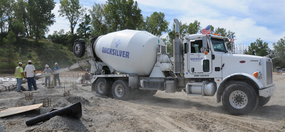 Quicksilver Concrete Truck