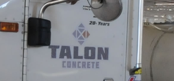 Talon Concrete Truck Photo